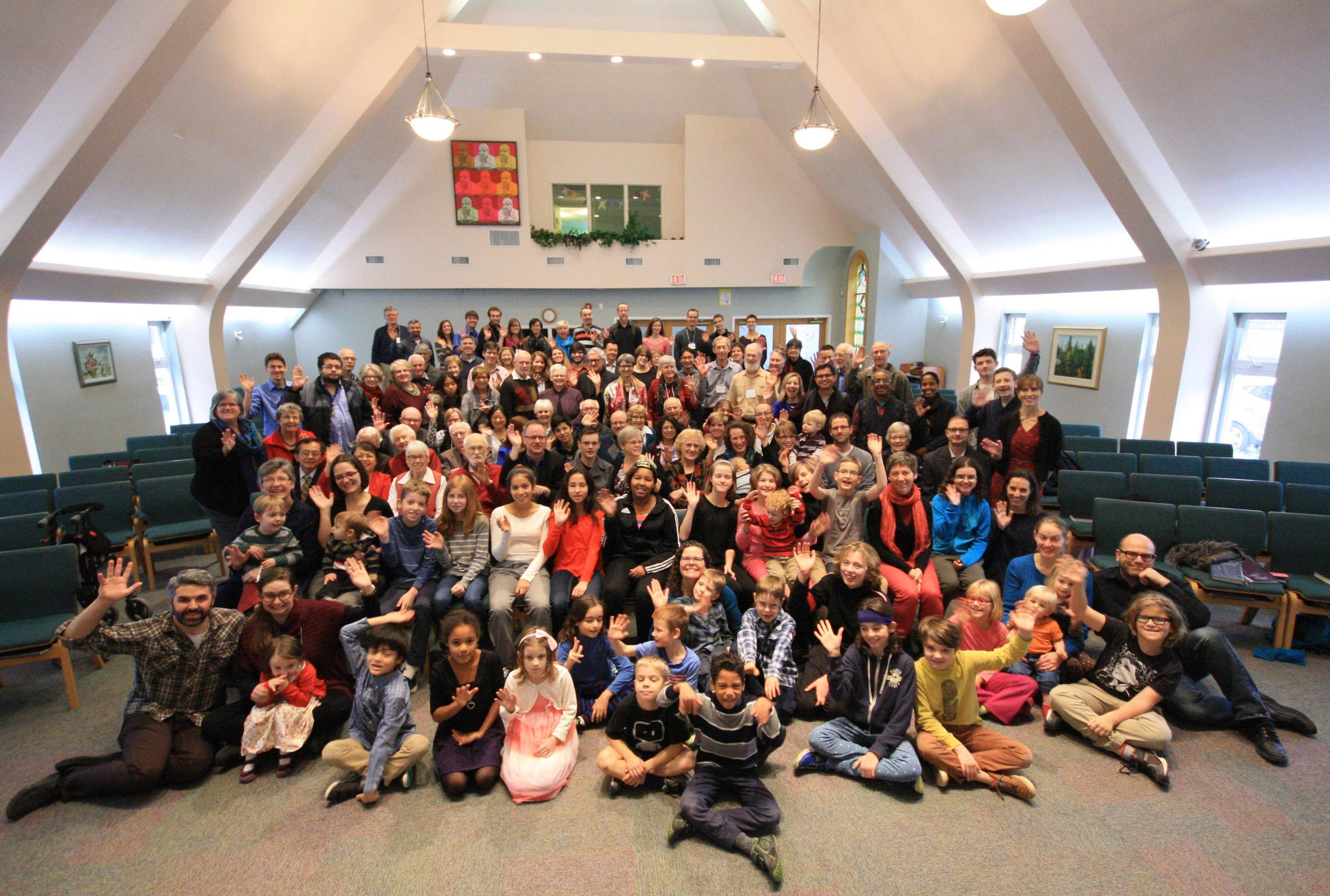 Christmas 2015 congregation photo